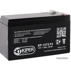 Мотоциклетный аккумулятор Kiper GP-1272 F2 (12В/7.2 А·ч)