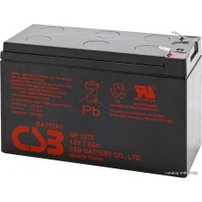 Мотоциклетный аккумулятор CSB GP1272 (12В/7.2 А·ч)