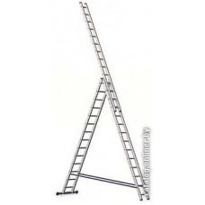 Лестница-стремянка Алюмет трехсекционная универсальная 5314 3x14