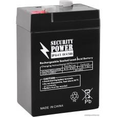 Security Power SP 12-4,5 F1 (12В/4.5 А·ч)