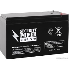 Security Power SP 12-7 F1 (12В/7 А·ч)