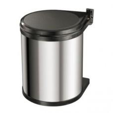 ведро мусорное steel